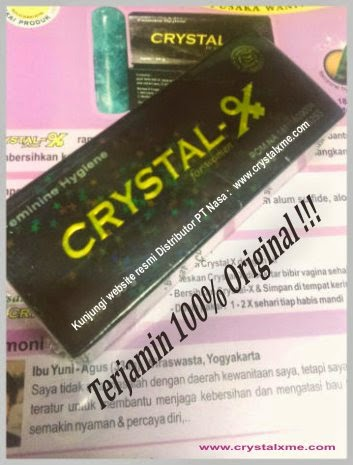 crystal x obat keputihan dan merapatkan vagina