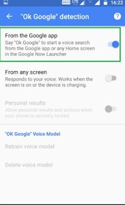 Cara Mudah Mematikan Fitur OK Google Pada Android