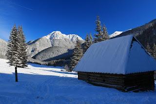 Kominiarski Wierch zimą
