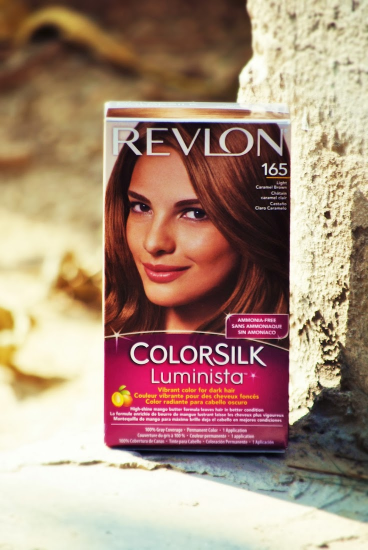 Revlon ColorSilk Luminista in Light Caramel Brown #165