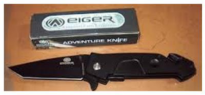 pisau lipat serbaguna Eiger