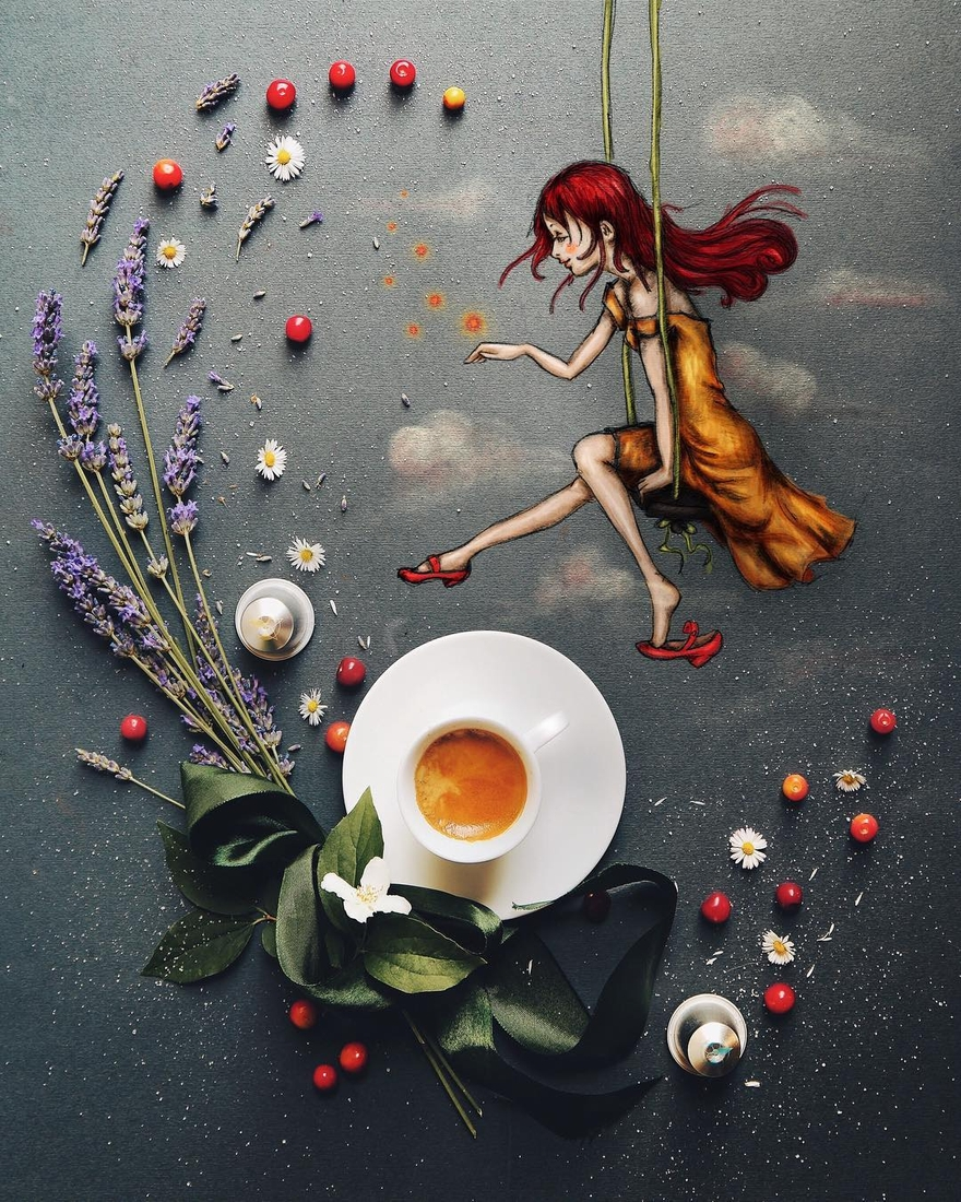 05-Morning-Coffee-Cinzia-Bolognesi-The-Coffee-Rituals-and-Illustrated-Compositions-www-designstack-co