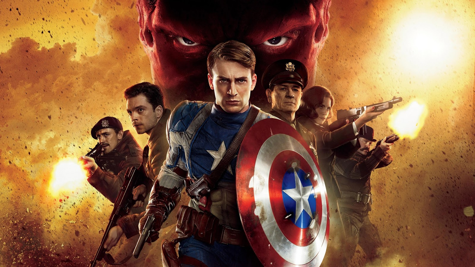 CAPTAIN AMERICA 1 : FIRST AVENGER TAMIL DUBBED HD