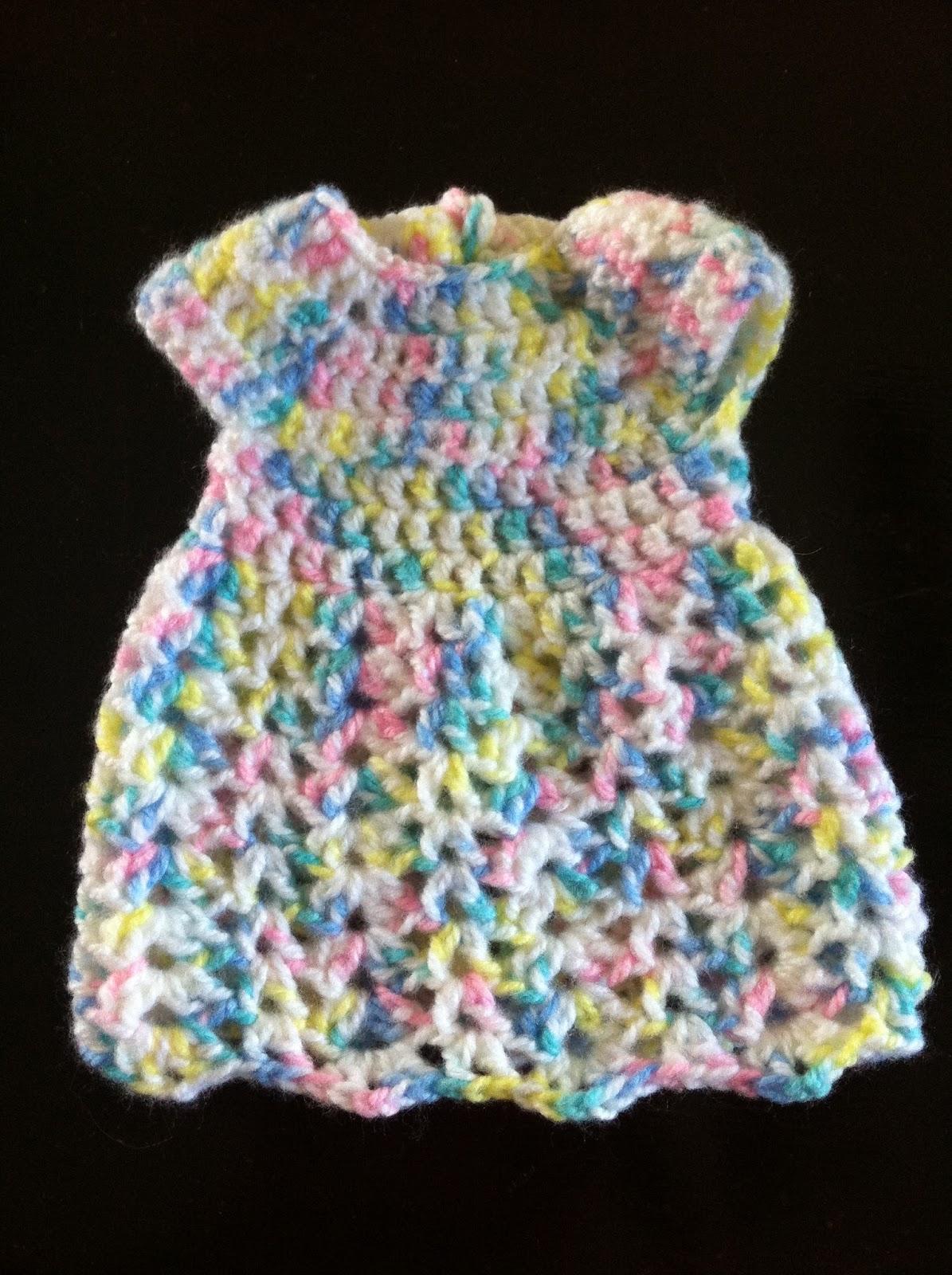 Crochet Preemie Dress - Free Pattern  e1da156c5bc