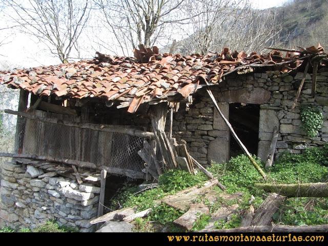 Ruta Puente Vidosa, Jucantu: Cabaña en Rubriellos