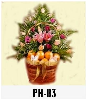 Parcel Bunga dan Buah