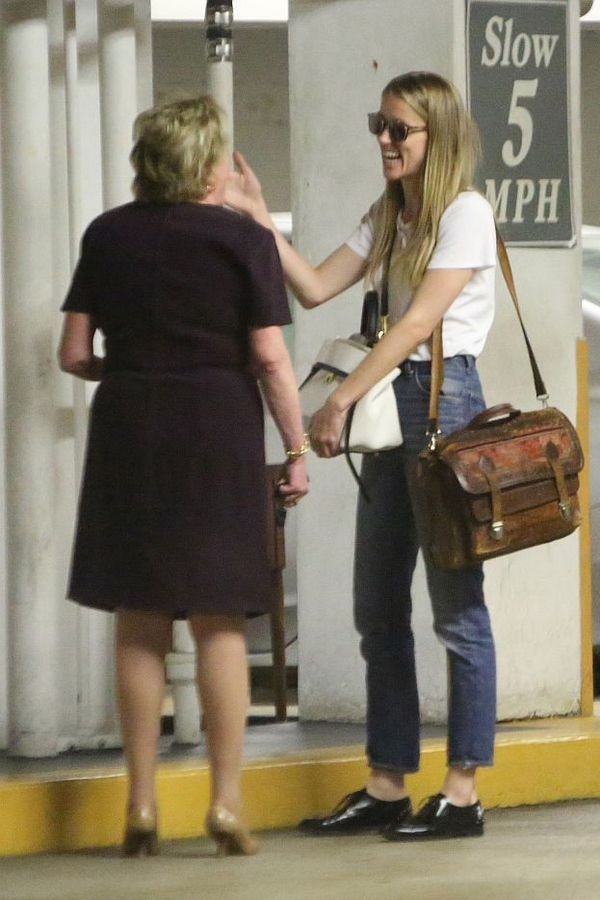 Amber Heard Celine bag meeting attorney