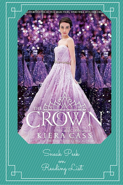 The Crown a Sneak Peek on Reading List