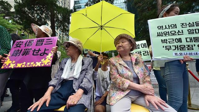 Japan refuses to commit to anything beyond 'comfort women' deal with South Korea