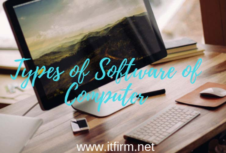 types of software of computer