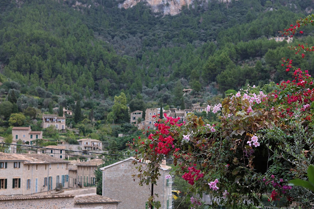 The village of Deià, Mallorca.