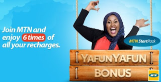 NEW: GET YafunYafun 10GB Worth of Data or More Via MTN StartPack For N1,000 ONLY