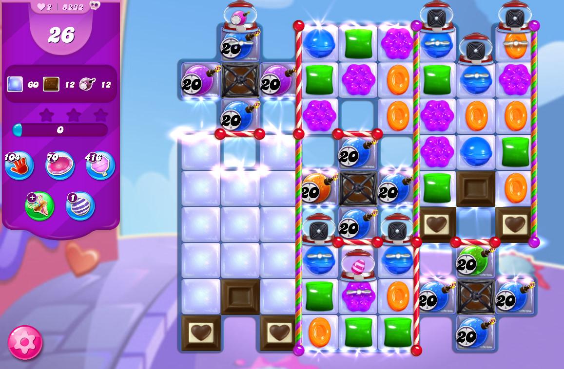 Candy Crush Saga level 5232
