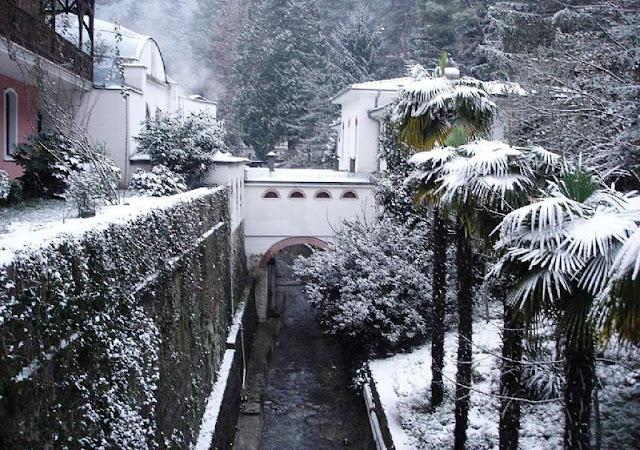 صور جولة مدينة يلوا, يلوا في الشتاء,