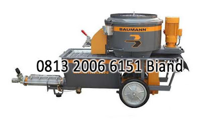 jual Baumann Worm Pumps PM 5X Series ( Alat Grouting / Mortar Machine )