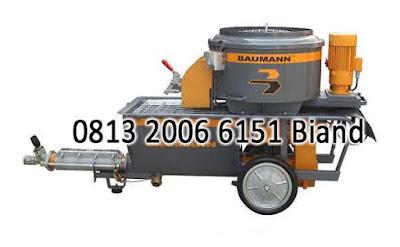 jual Baumann Worm Pumps PM 5X Series ( Alat Grouting / Mortar Machine )