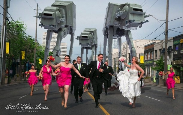 Imperial AT-AT Walkers Attack