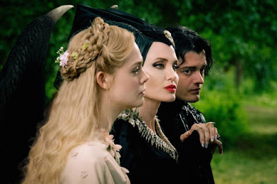 Maleficent Mistress Of Evil Elle Fanning Angelina Jolie Sam Riley Image 1