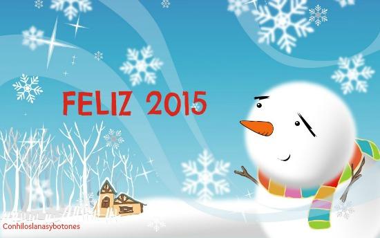 Conhiloslanasybotones: Feliz 2015