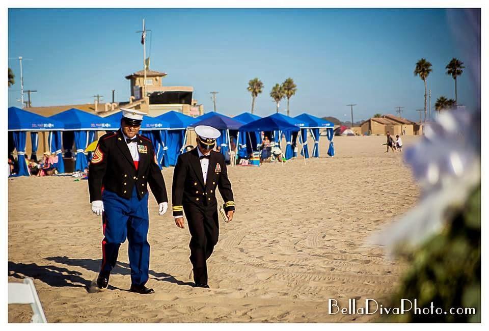 Beach Resort Camp Pendleton Wedding Oceanside Military Photographer Belladiva Photography San Go Modern Lifestyle