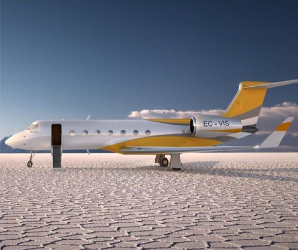 Britney Spears 23 Million Jet