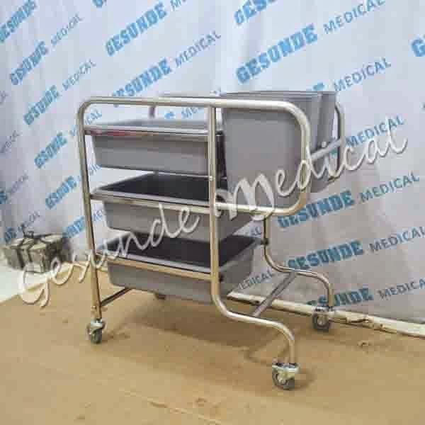 beli alat dish trolley (clearing trolley)