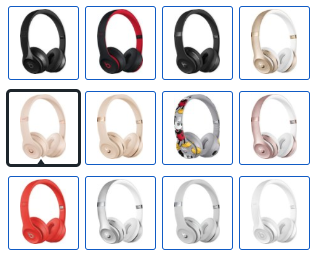 Beats Solo3 wireless headphones colors