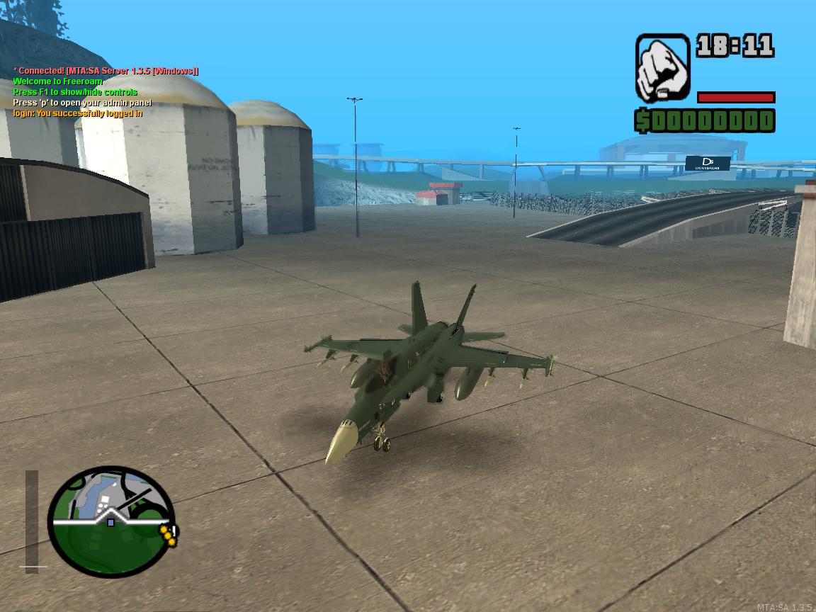 4 - MTA - F-18 Hydra