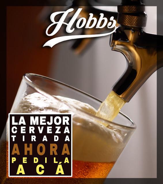 Hobbs Cerveza Tirada Palermo