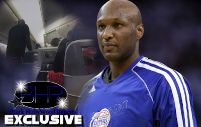 Lamar Odom Was Removed from A Delta Airplane For Vomiting