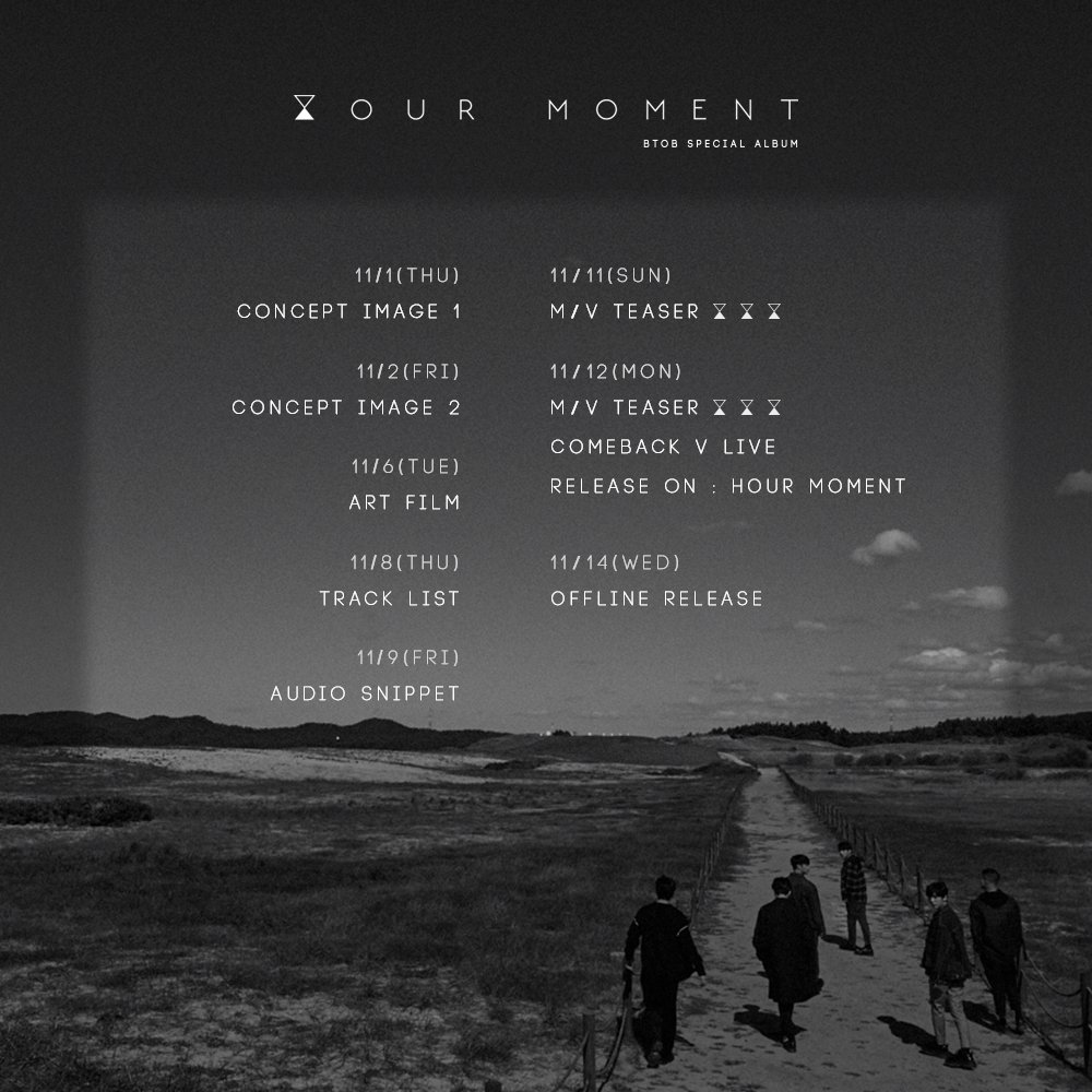 BTOB Reveals Their Complete Schedule For Comeback with Special Album 'Hour Moment'