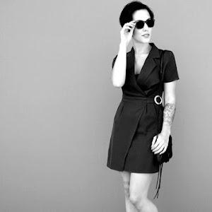 Black dress jumpsuit 164