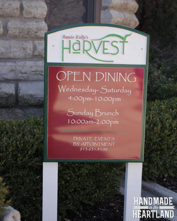 Renee Kelly's Harvest - Kansas City Restaurant Review