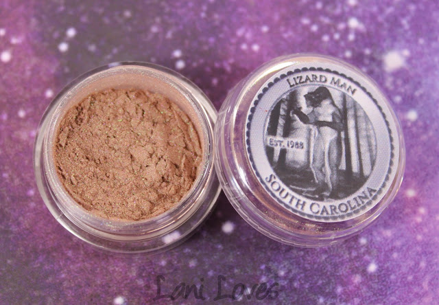 Notoriously Morbid Lizard Man Eyeshadow Swatches & Review