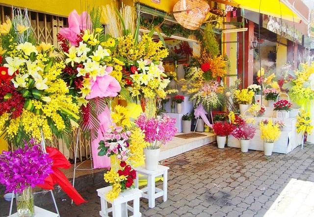 Cửa hàng hoa quận Tân Bình