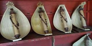 Sasando - traditional musical instrument of indonesia