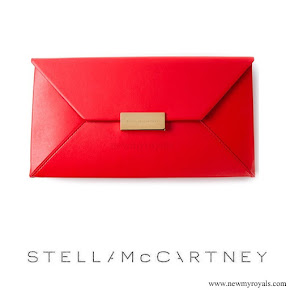 Crown Princess Victoria carried Stella McCartney Beckett Clutch