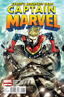 Captain Marvel #8 Cover