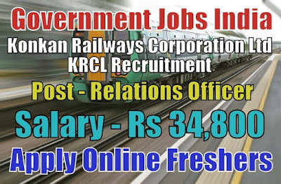 Konkan Railways KRCL Recruitment 2018