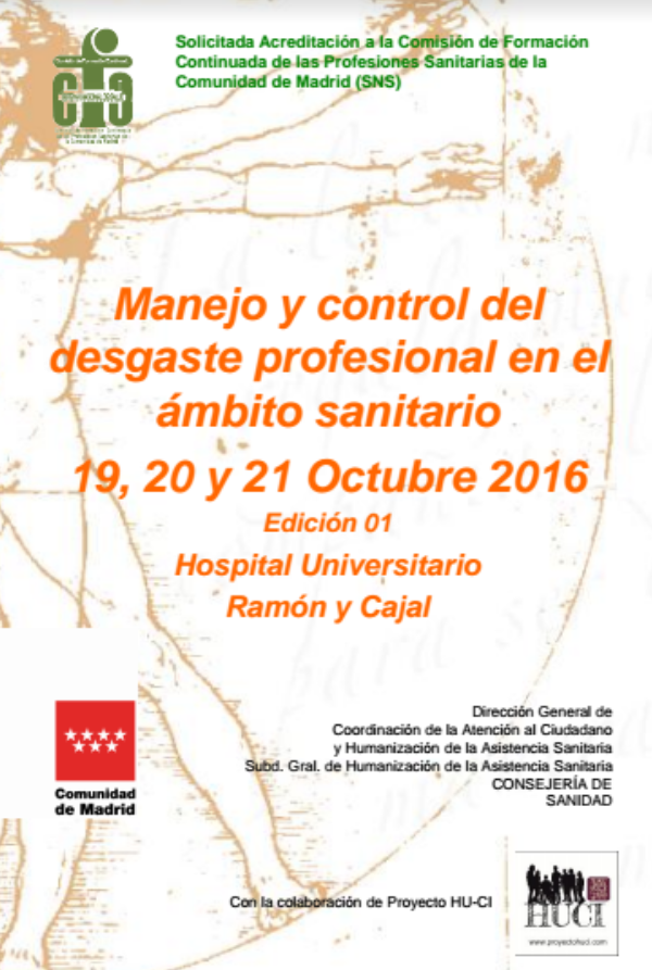 Management and control of ICU burnout syndrome – Proyecto HU-CI