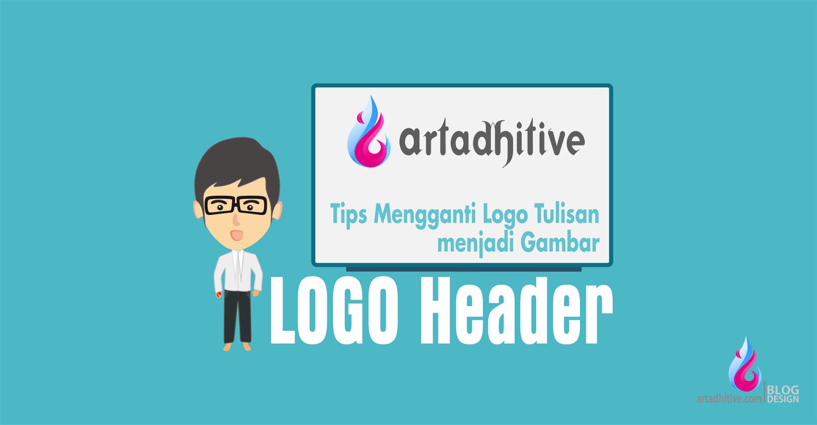 Logo Tulisan berubah menjadi Gambar