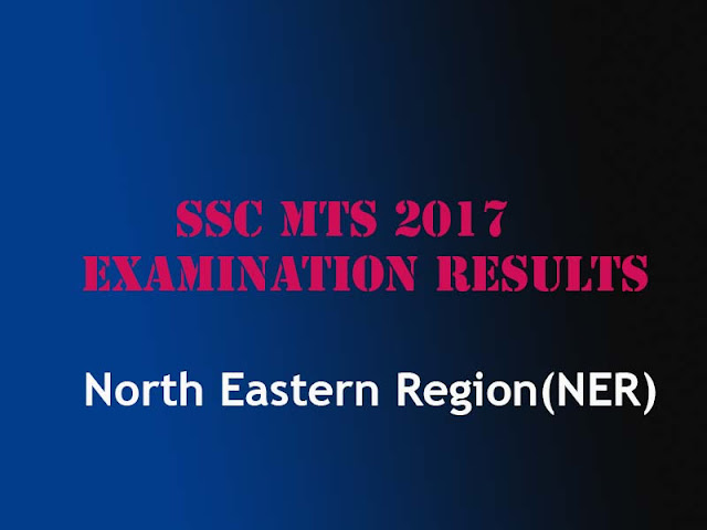 SSC MTS North Eastern Region Result