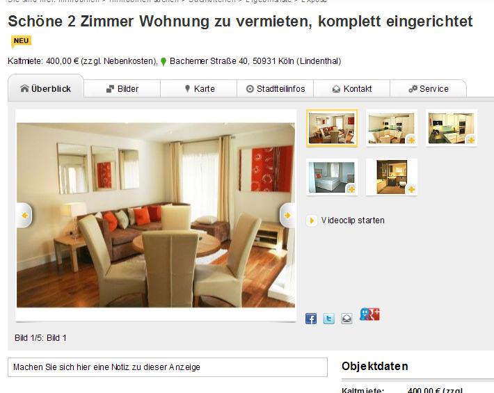 Wohnungsbetrug.blogspot.com: 2. August 2012