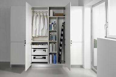 Ventajas de la cocina y lavadero como zonas separadas for Lavaderos modernos