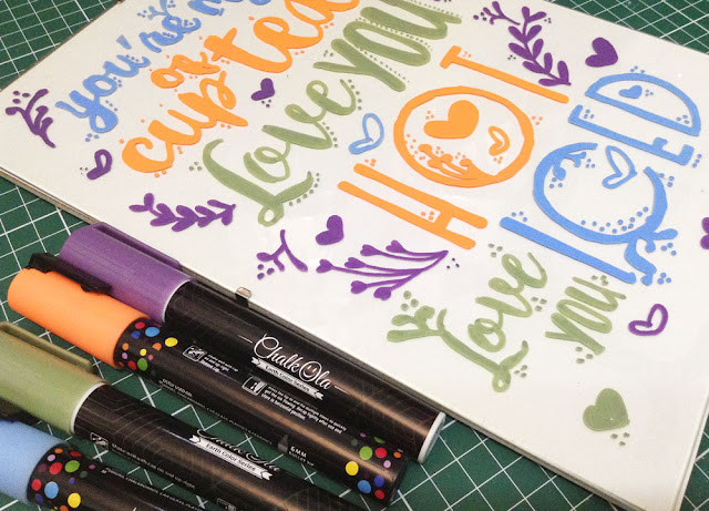 Chalk Markers Chalkola, Discount & Giveaway