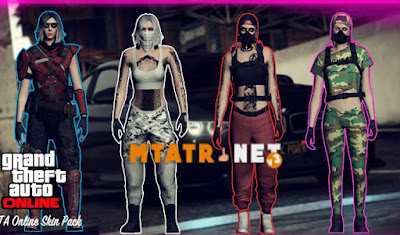 GTA Online Female Skin Pack 2