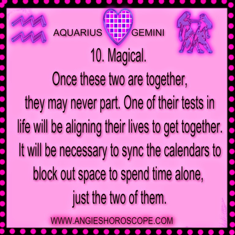 gemini and aquarius relationship 2015