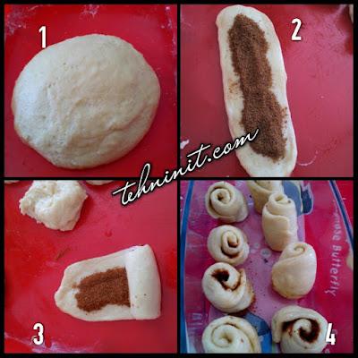 Cinnamon Roll alias Roti Gulung Kayu Manis