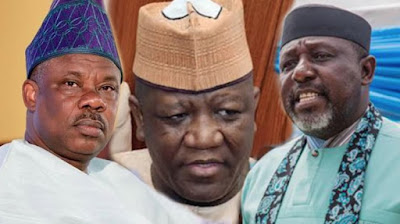 Image result for EFCC to probe Governors Amosun, Okorocha, Yari and Ahmed as their immunity ends in May