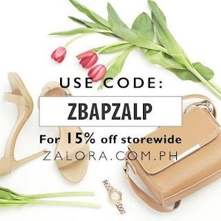 Use this discount voucher when you purchase at Zalora Ph